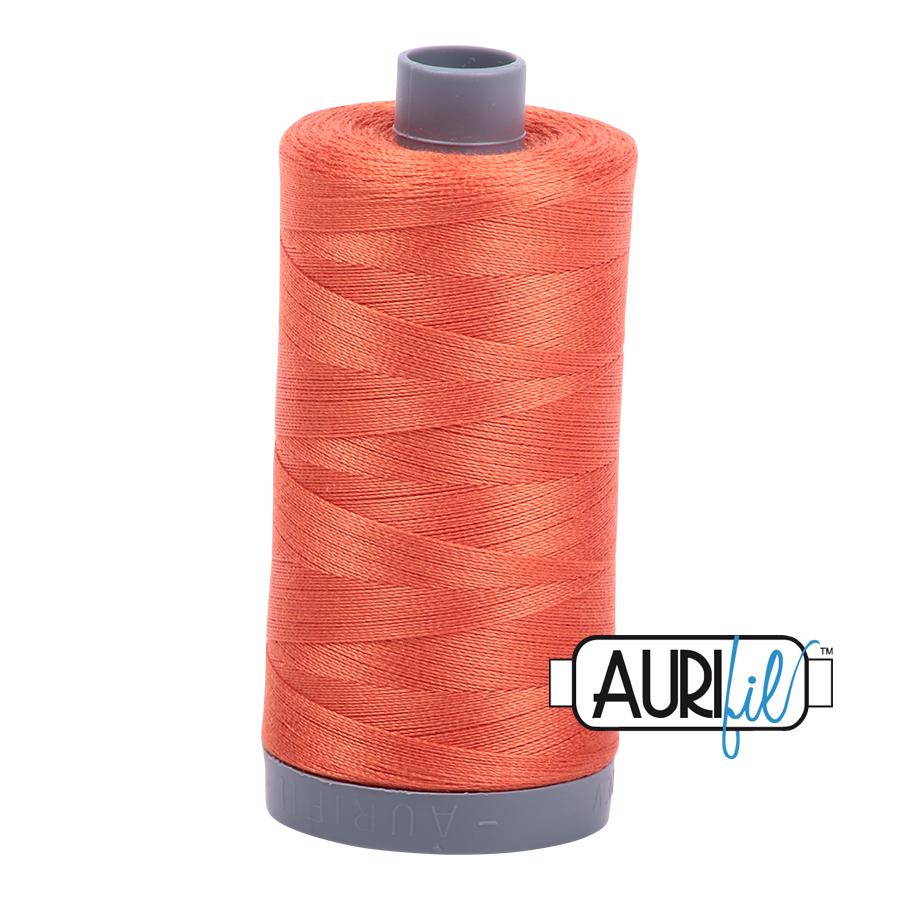 Col. #1154 Dusty Orange - Aurifil 28 Weight