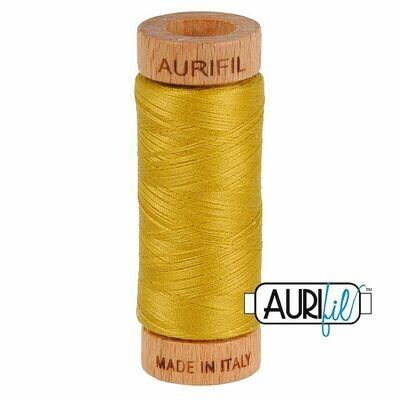 Col. #5022 Mustard - Aurifil 80 Weight
