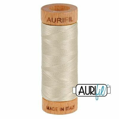 Col. #6725 Moondust - Aurifil 80 Weight