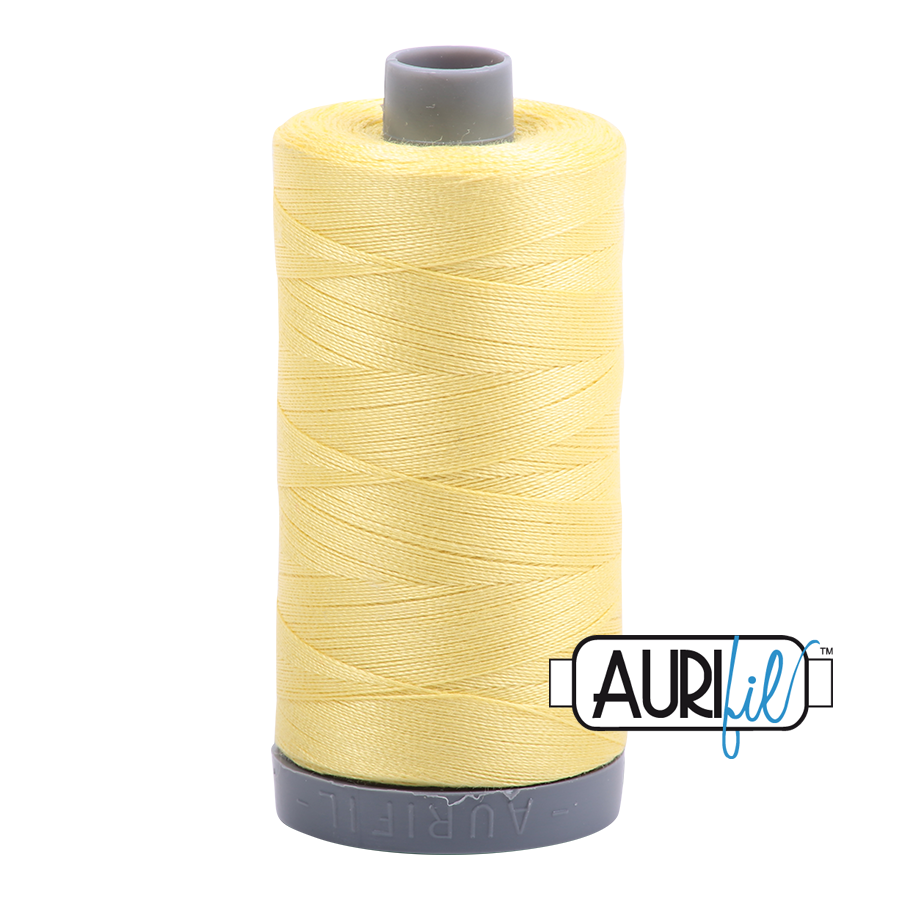 Col. #2115 Lemon - Aurifil 28 Weight