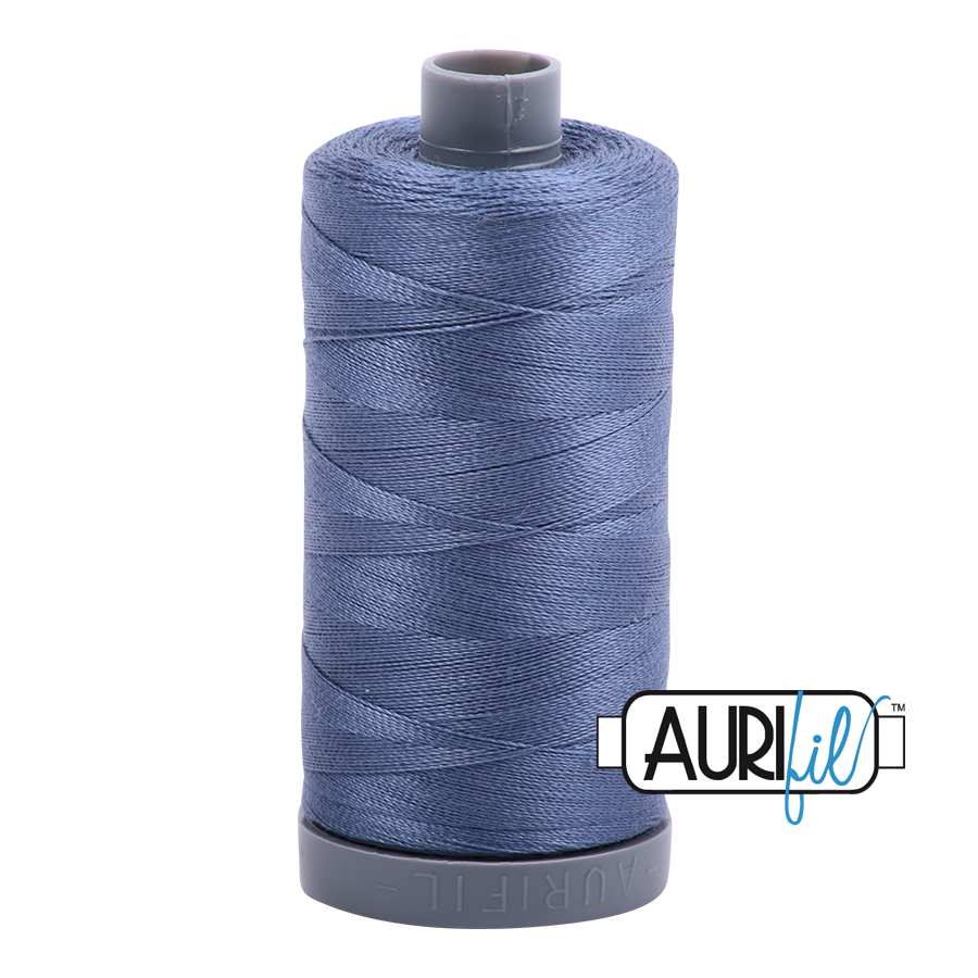 Col. #1248 Dark Grey Blue - Aurifil 28 Weight