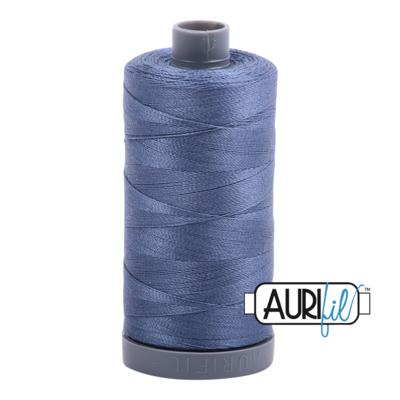 Col. #1248 Dark Grey Blue - Aurifil 28 Weight