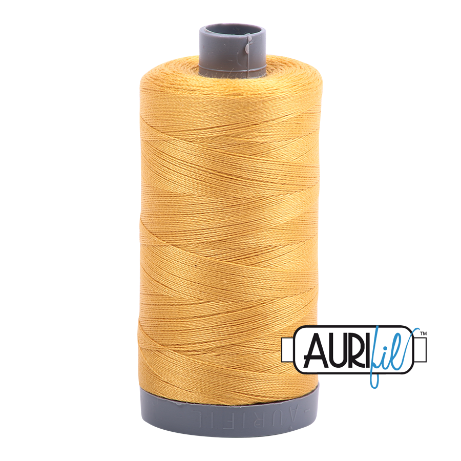 Col. #2132 Tarnished Gold - Aurifil 28 Weight