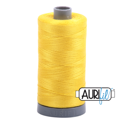 Col. #2120 Canary - Aurifil 28 Weight