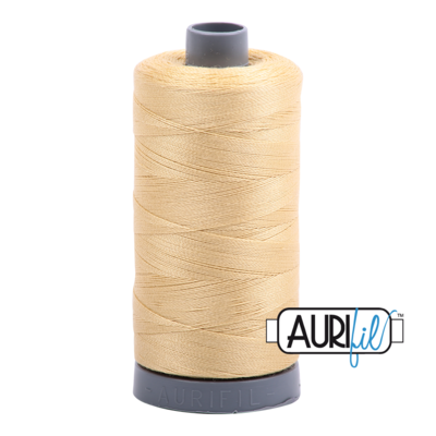 Col. #2125 Wheat - Aurifil 28 Weight