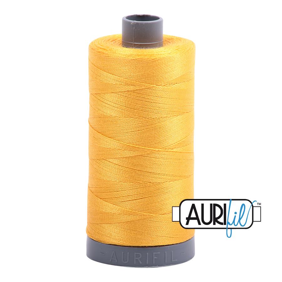 Col. #2135 Yellow - Aurifil 28 Weight