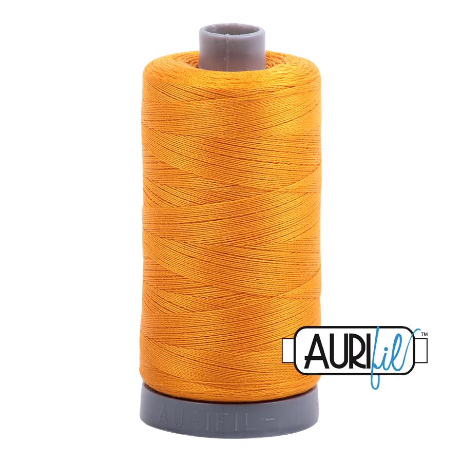 Col. #2145 Yellow Orange - Aurifil 28 Weight
