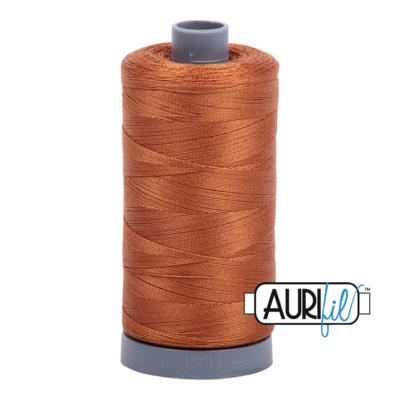 Col. #2155 Cinnamon - Aurifil 28 Weight