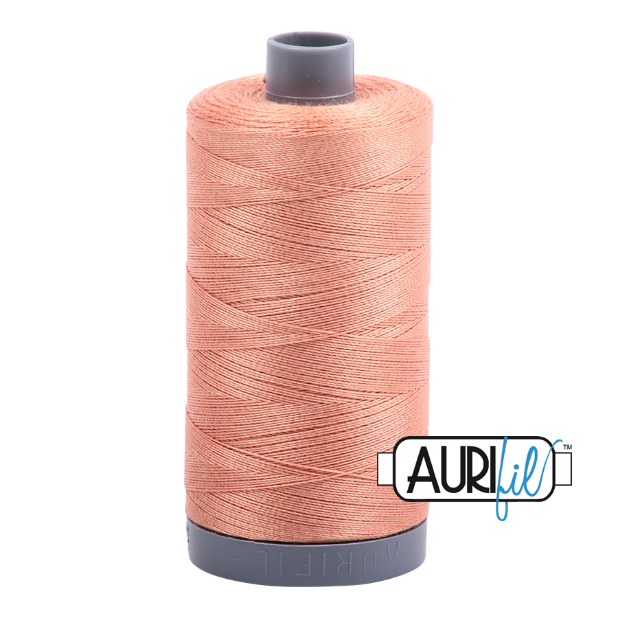 Col. #2215 Peach - Aurifil 28 Weight