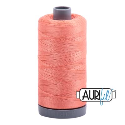Col. #2220 Light Salmon - Aurifil 28 Weight