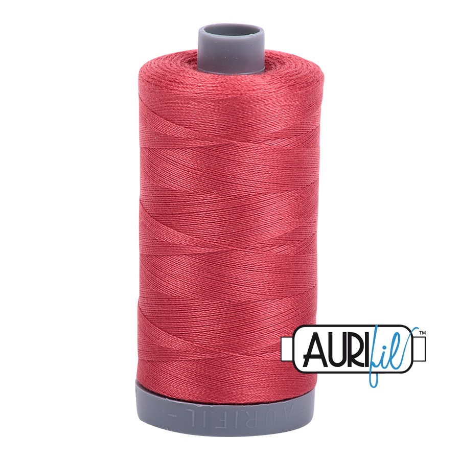 Col. #2230 Red Peony - Aurifil 28 Weight