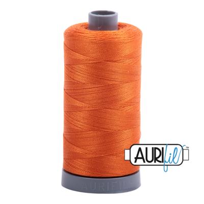 Col. #2235 Orange - Aurifil 28 Weight