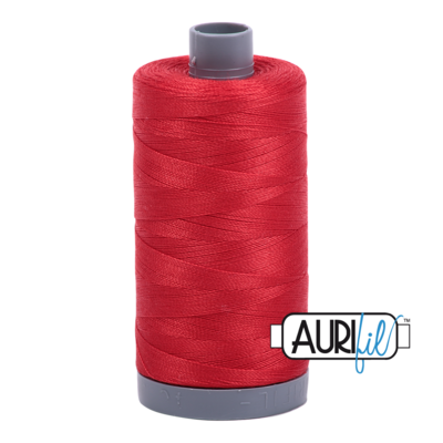 Col. #2265 Lobster Red - Aurifil 28 Weight