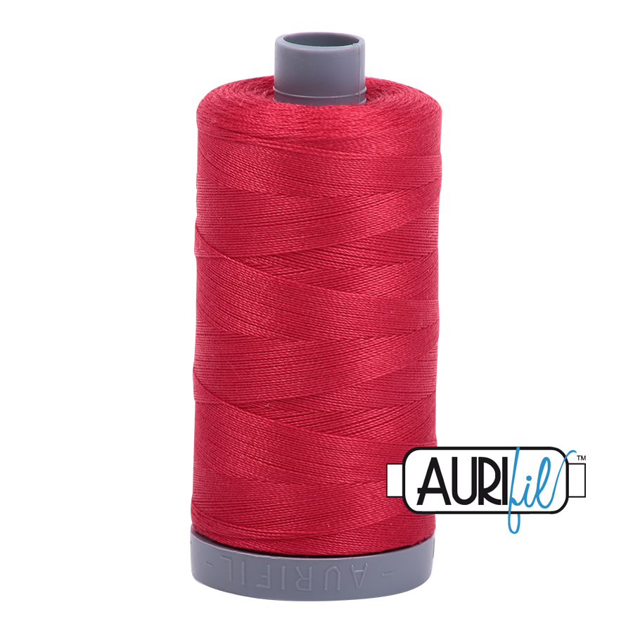 Col. #2250 Red - Aurifil 28 Weight