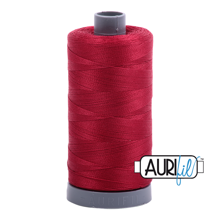 Col. #2260 Red Wine - Aurifil 28 Weight