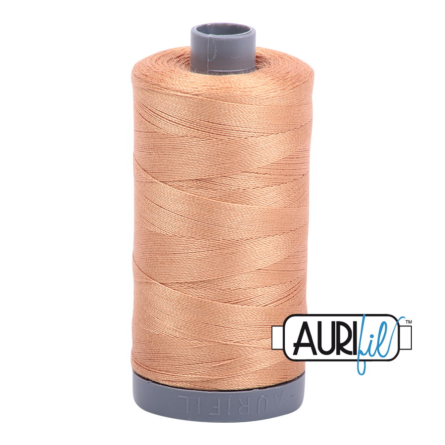 Col. #2320 Light Toast - Aurifil 28 Weight