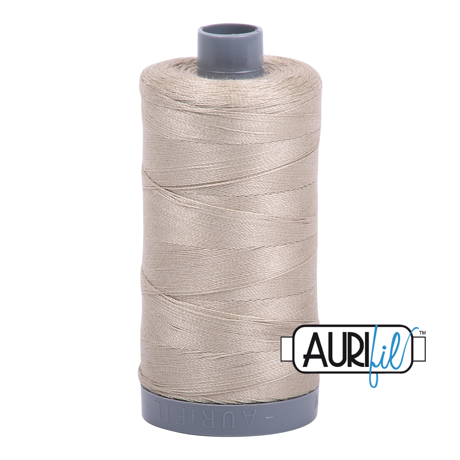 Col. #2324 Stone - Aurifil 28 Weight