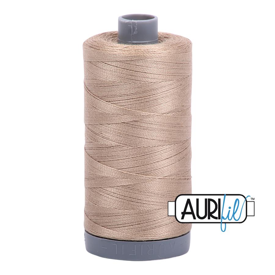 Col. #2325 Linen - Aurifil 28 Weight