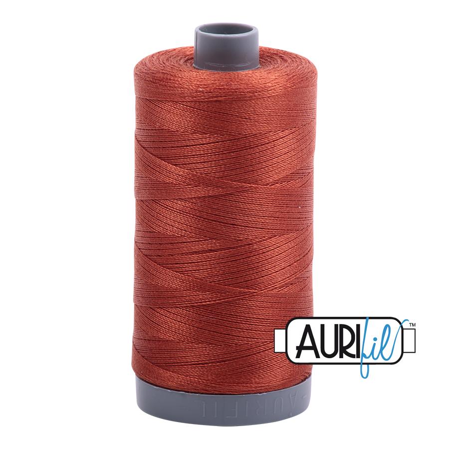 Col. #2350 Copper - Aurifil 28 Weight
