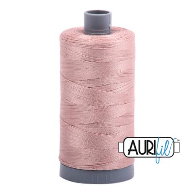 Col. #2375 Antique Blush - Aurifil 28 Weight