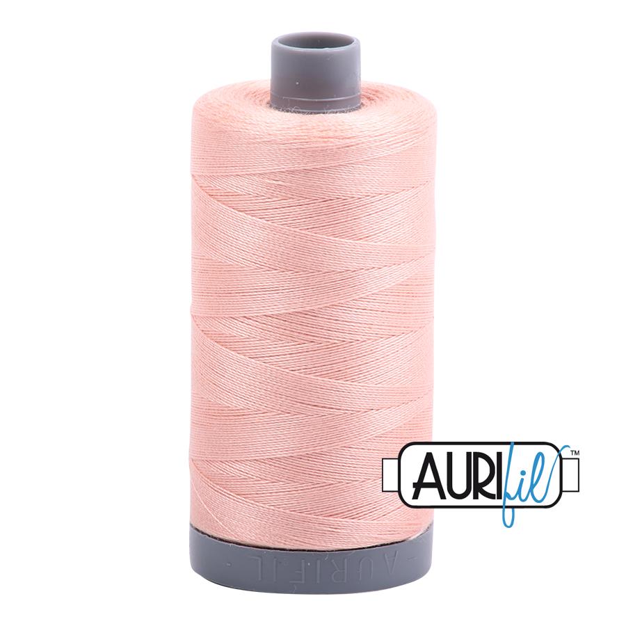 Col. #2420 Light Blush - Aurifil 28 Weight