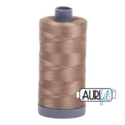 Col. #2370 Sandstone - Aurifil 28 Weight