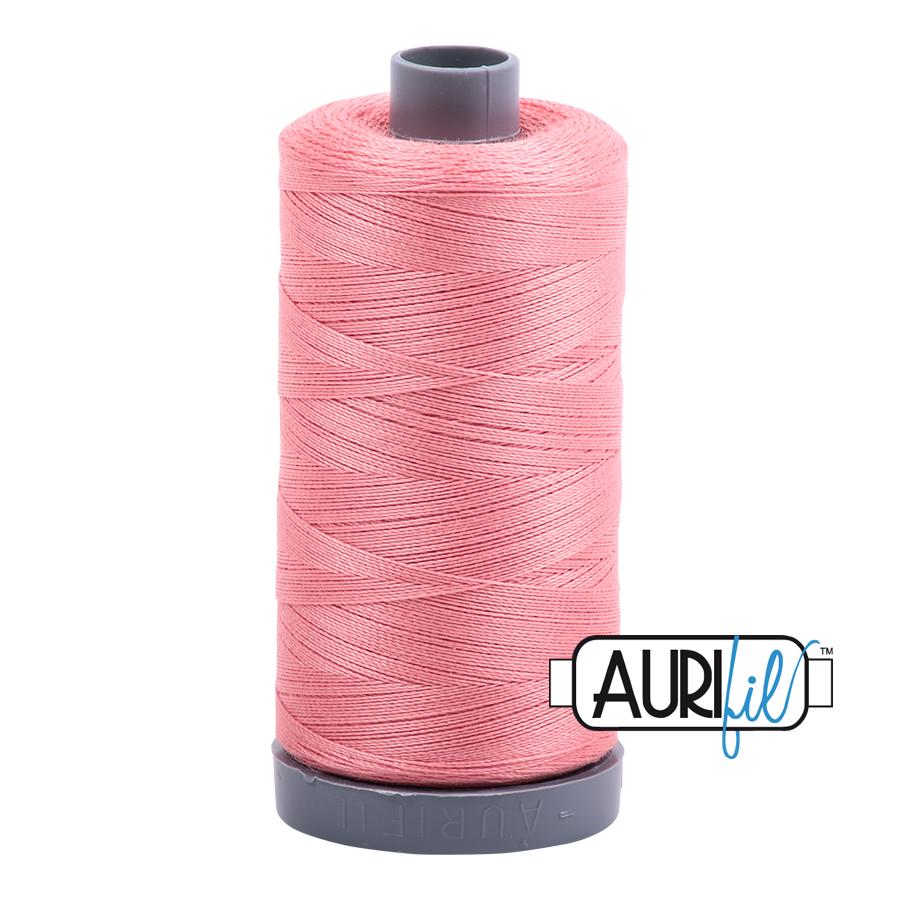 Col. #2435 Peachy Pink - Aurifil 28 Weight