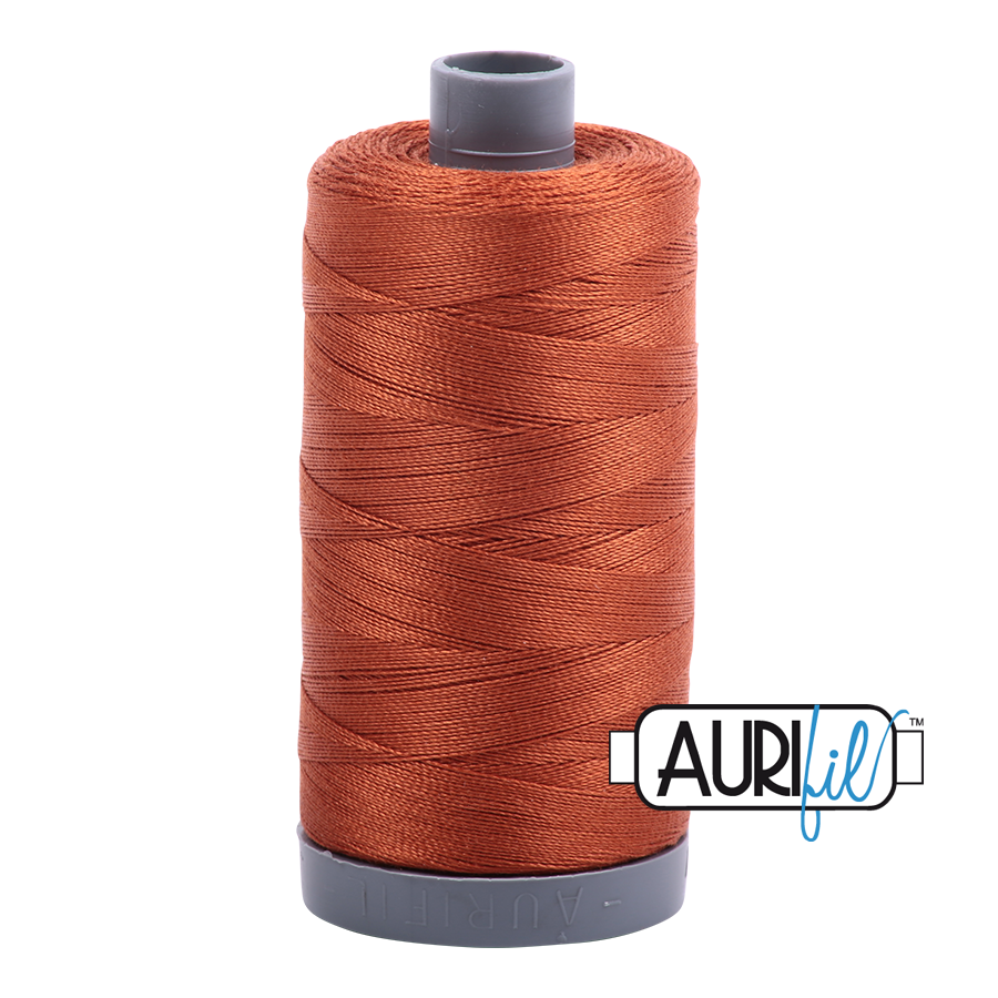 Col. #2390 Cinnamon Toast - Aurifil 28 Weight