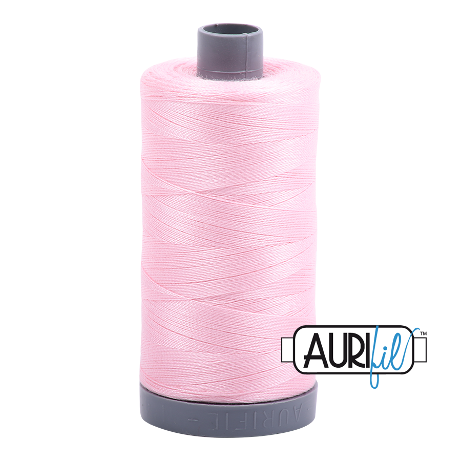 Col. #2423 Baby Pink - Aurifil 28 Weight