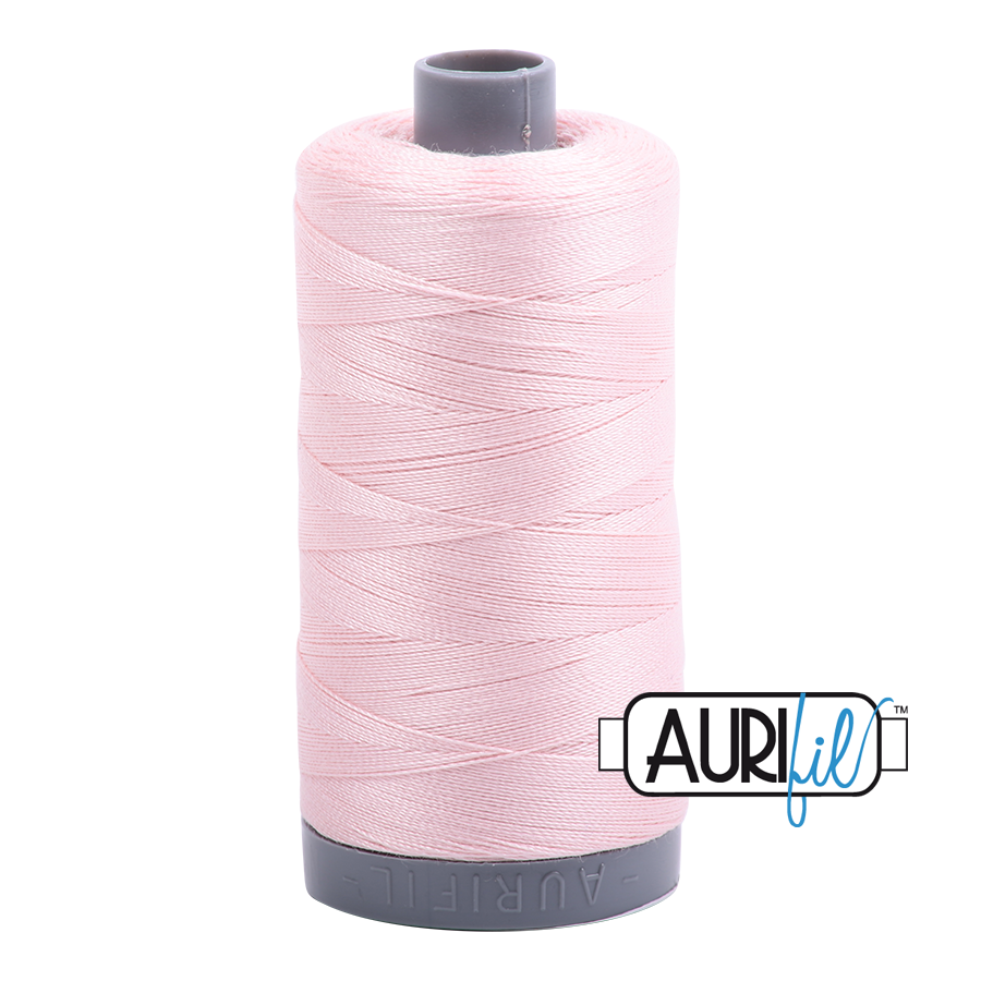 Col. #2410 Pale Pink - Aurifil 28 Weight