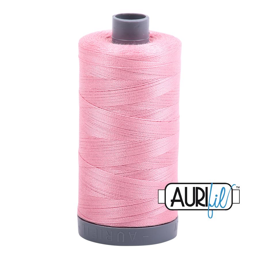 Col. #2425 Bright Pink - Aurifil 28 Weight