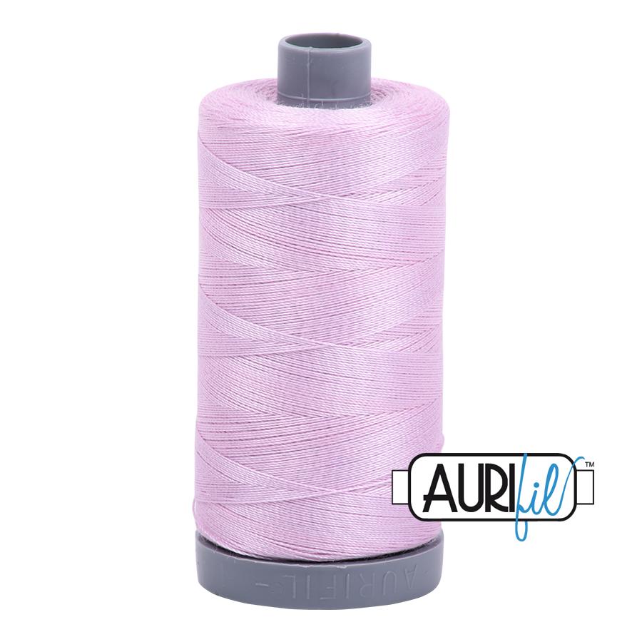 Col. #2510 Light Lilac - Aurifil 28 Weight