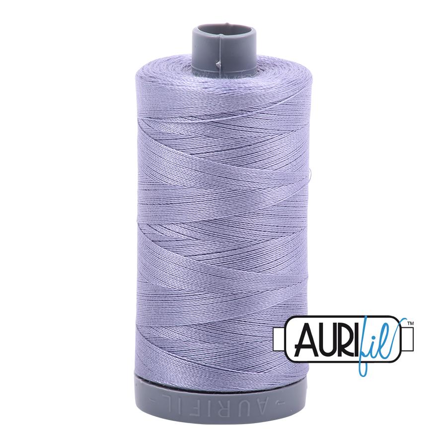 Col. #2524 Grey Violet - Aurifil 28 Weight