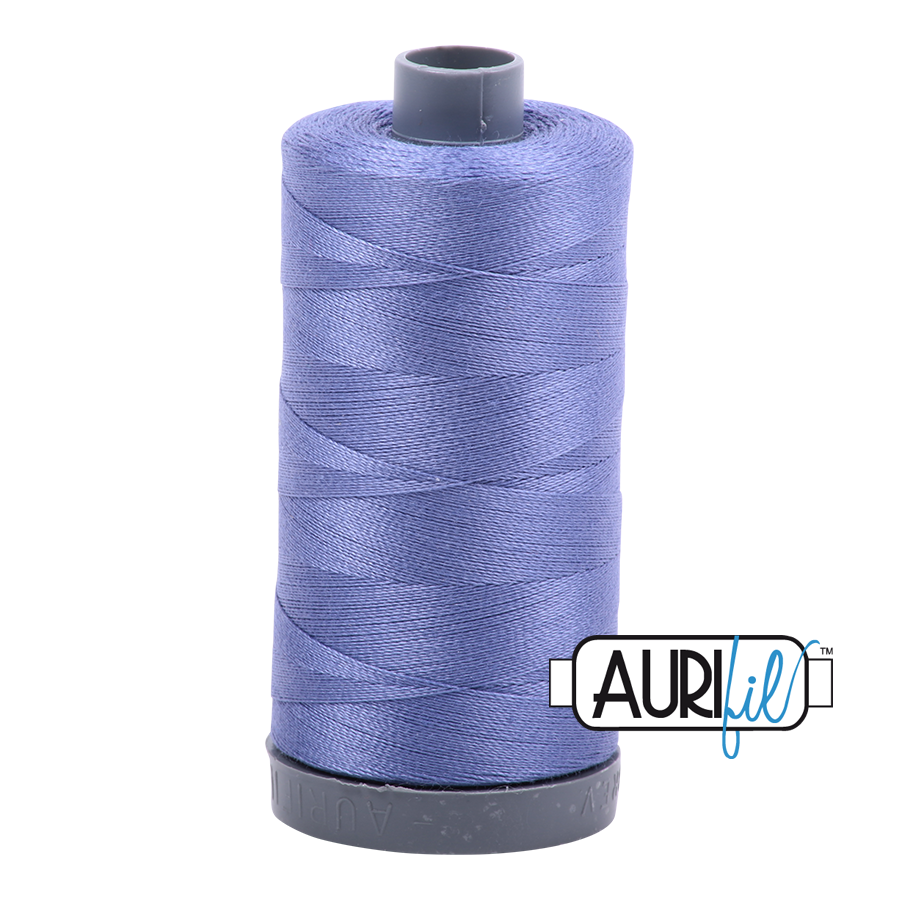 Col. #2525 Dusty Blue Violet - Aurifil 28 Weight