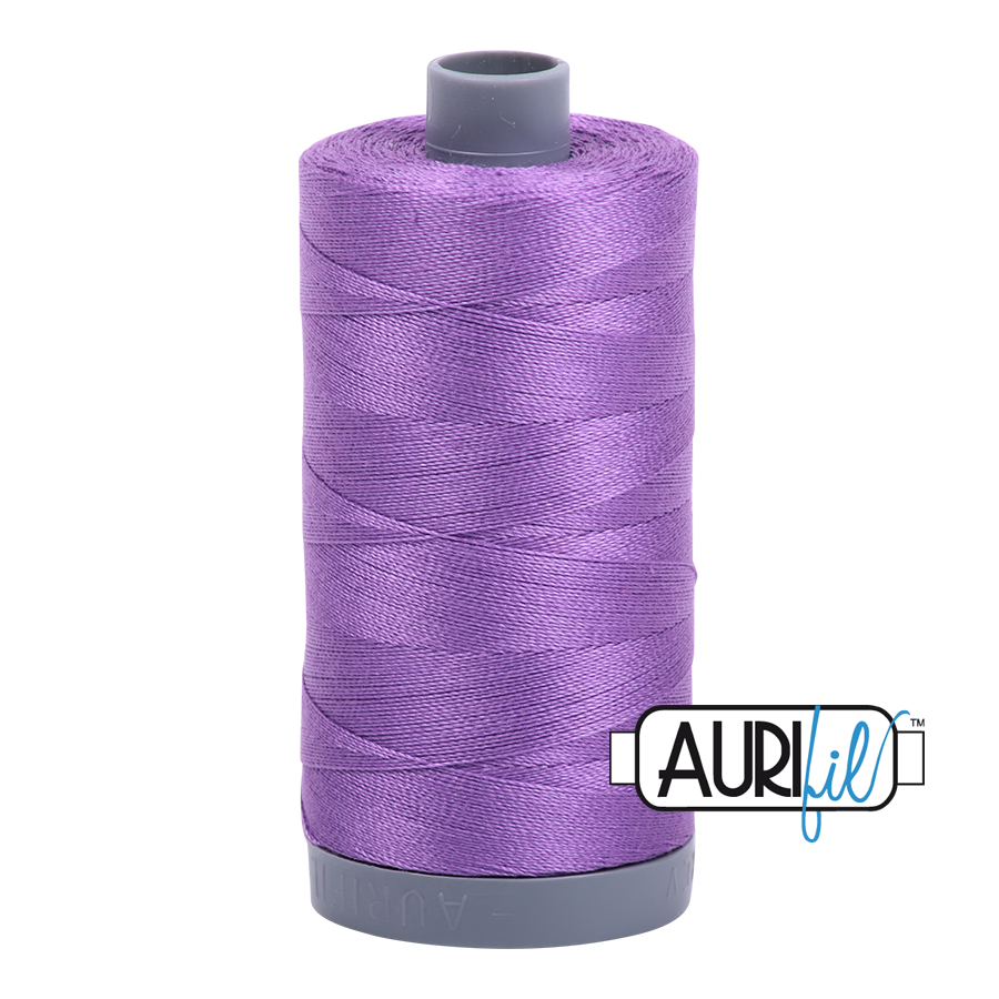 Col. #2540 Medium Lavender - Aurifil 28 Weight