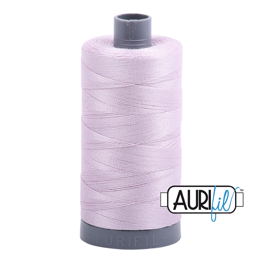 Col. #2564 Pale Lilac - Aurifil 28 Weight