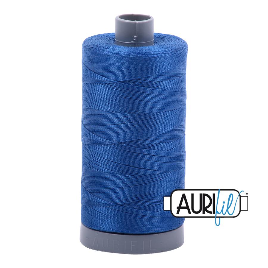 Col. #2735 Medium Blue - Aurifil 28 Weight