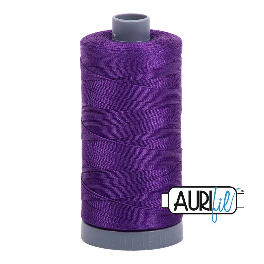 Col. #2545 Medium Purple - Aurifil 28 Weight