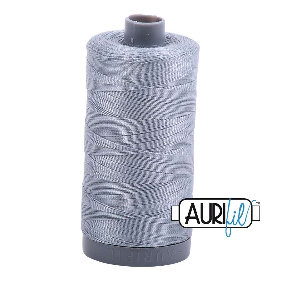 Col. #2610 Light Blue Grey - Aurifil 28 Weight