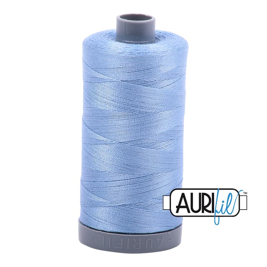 Col. #2720 Light Delft Blue - Aurifil 28 Weight