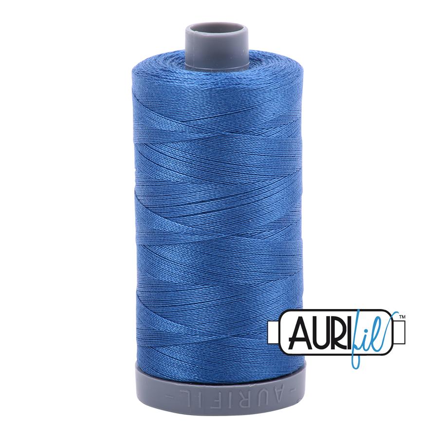 Col. #2730 Delft Blue - Aurifil 28 Weight