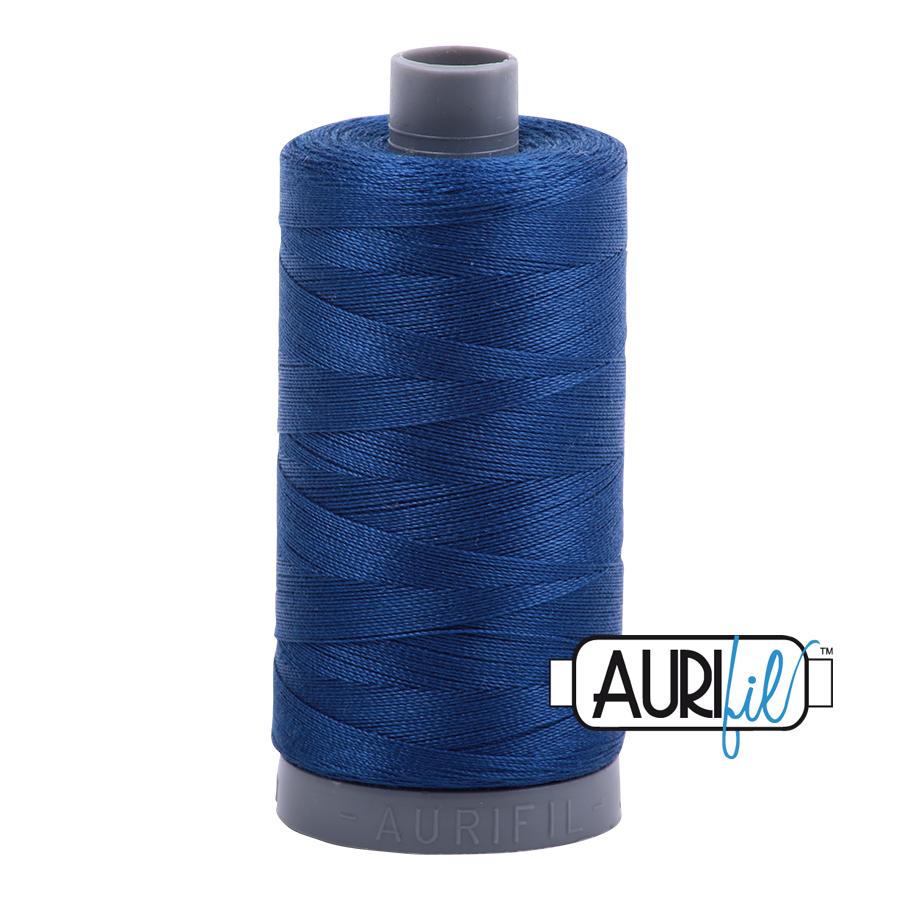 Col. #2780 Dark Delft Blue - Aurifil 28 Weight