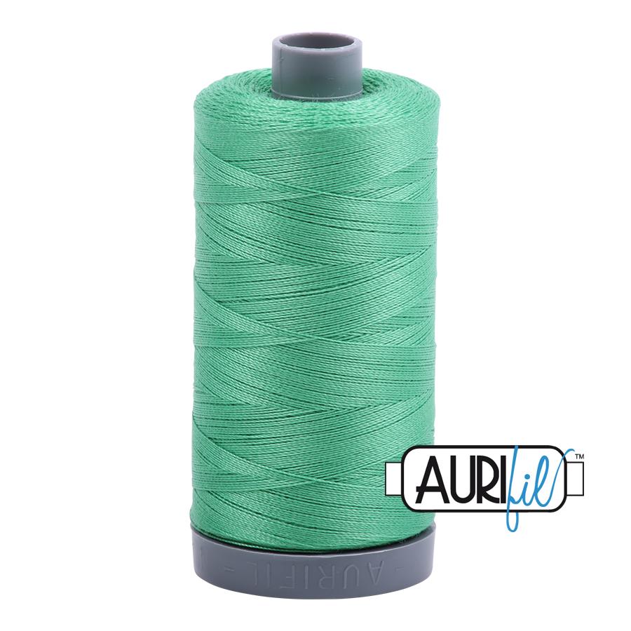 Col. #2860 Light Emerald - Aurifil 28 Weight
