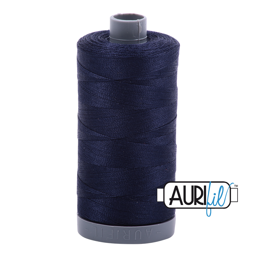 Col. #2785 Very Dark Navy - Aurifil 28 Weight