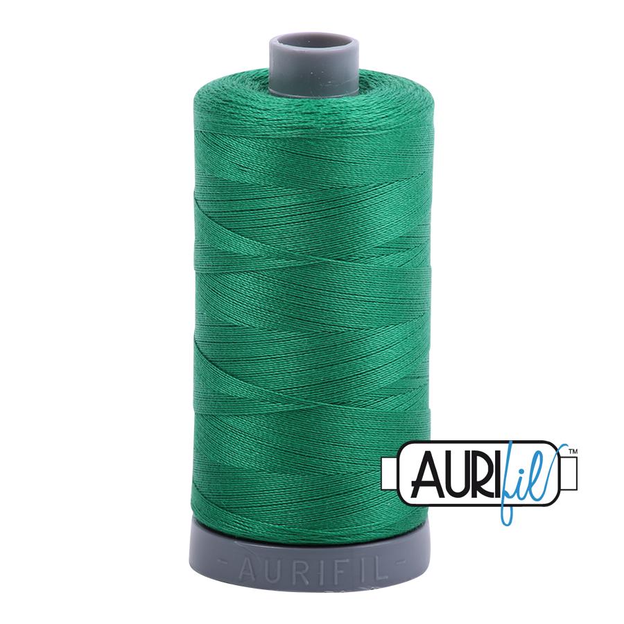 Col. #2870 Green - Aurifil 28 Weight