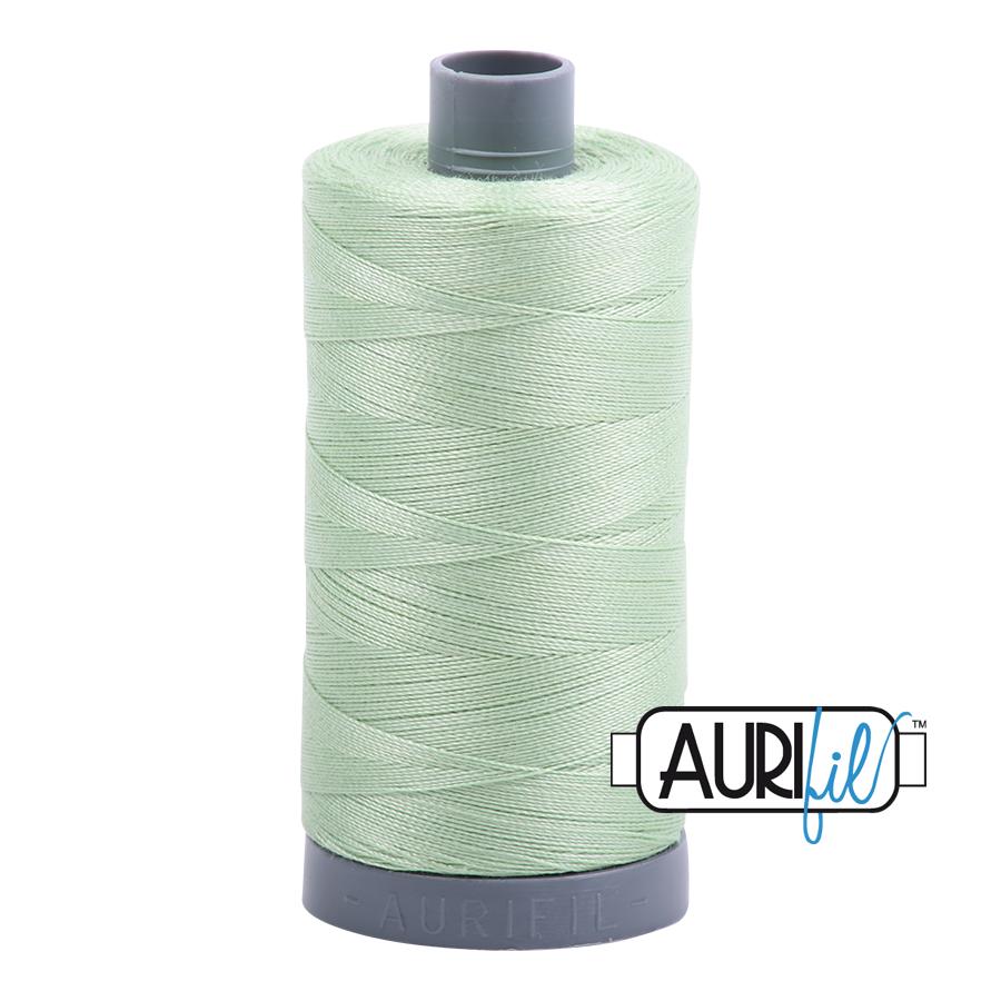 Col. #2880 Pale Green - Aurifil 28 Weight