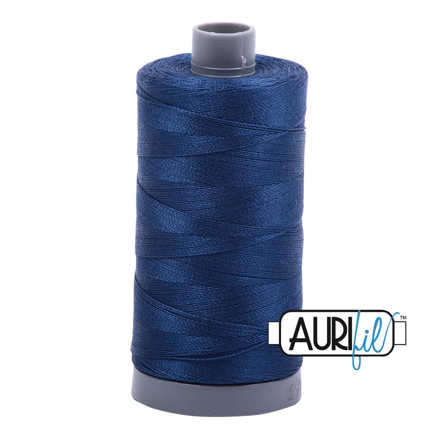 Col. #2783 Medium Delft Blue - Aurifil 28 Weight