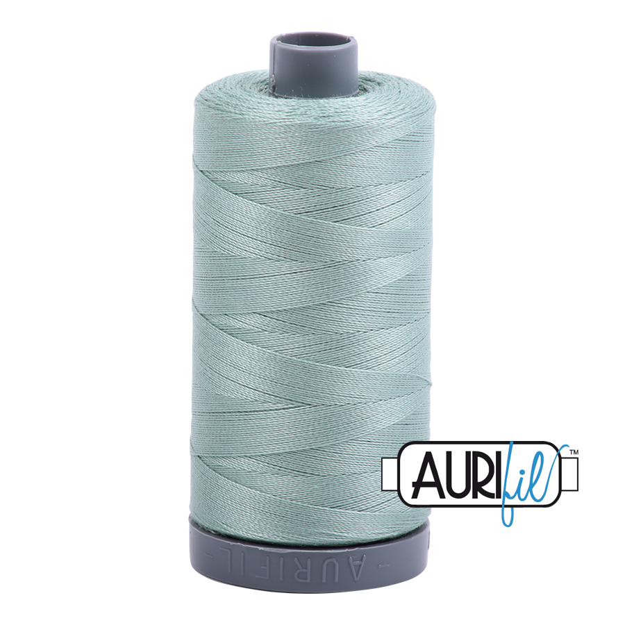 Col. #2845 Light Juniper - Aurifil 28 Weight