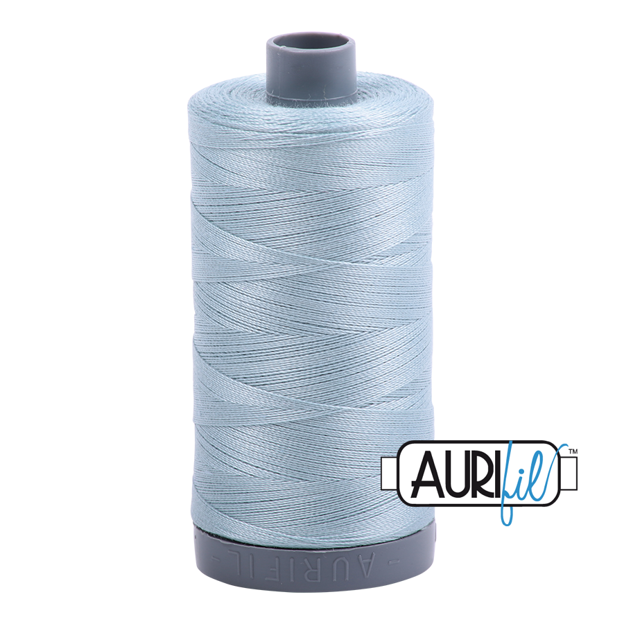Col. #2847 Bright Grey Blue - Aurifil 28 Weight