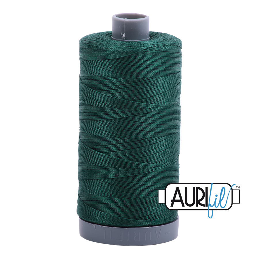 Col. #2885 Medium Spruce - Aurifil 28 Weight